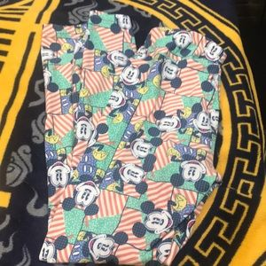 Lularoe Disney Mickey Mouse os Leggings